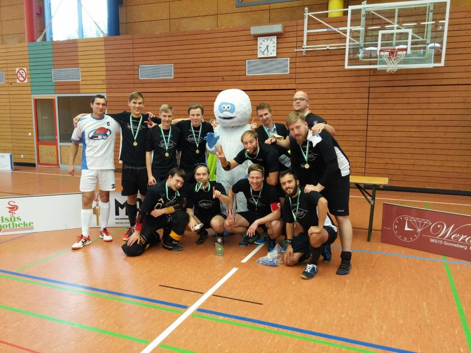 Gewinnerteam Floorball Rennsteig Cup 2015 : FC Lindenau City